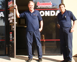 Greg & Kelly at Arrowwood Auto